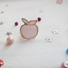 Значок Аpple pink