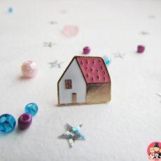 Значок Домик pink