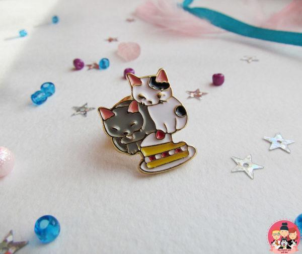 Значок «Котята-сладкоежки»