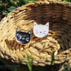 Значки-кошачьи мордашки