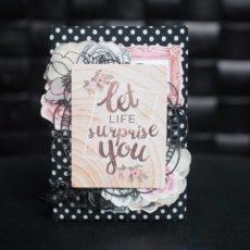Открытка «Let life surprise you»